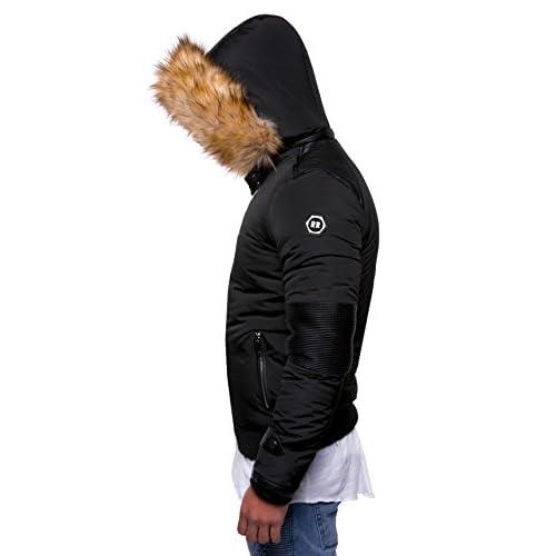 e01ab8f1d0fa MT Styles veste d hiver homme fausse fourrure E-1733  5Bxcl0804252 ...