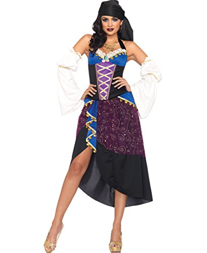Tarot Card Gypsy Costumes (Tarot Card Gypsy Adult Costume - Small)