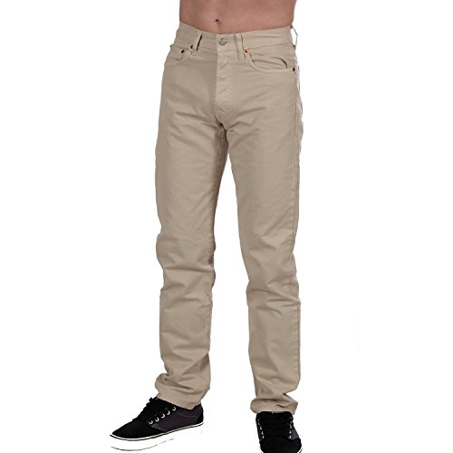 Replay Herren Jeans, Damenjeans M908 Regular Fit, Straight, Ecru M908-051-120