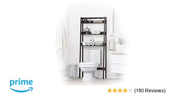 Amazon Com Utex 3 Shelf Bathroom Organizer Over The Toilet