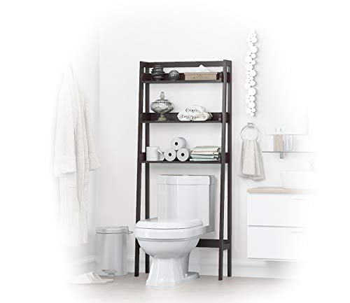 UTEX 3-Shelf Bathroom Organizer Over The Toilet, Bathroom Spacesaver ()