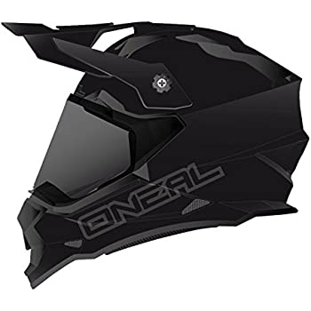 ONeal 0817-504 Sierra II Mens Full-Face Helmet (Black, Large)