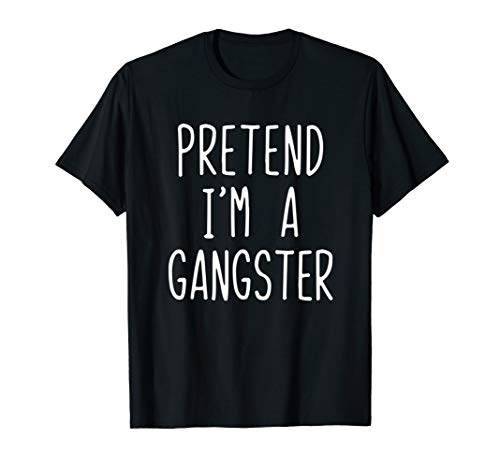 Gangster Halloween Costumes 2019 (Pretend I'm A Gangster Costume Halloween Lazy Easy)