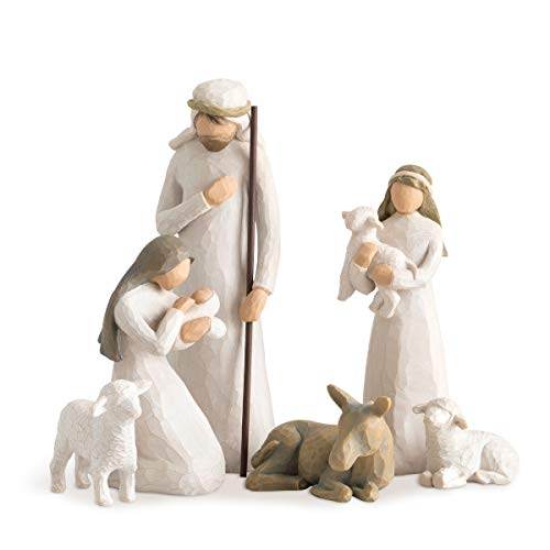 Willow Tree Nativity sculpted