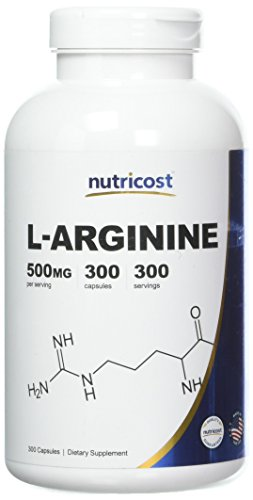 Nutricost L Arginine 500mg 300 Capsules product image