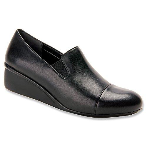 Ros Hommerson Womens Ellis Slip On Casual Loafers Black 3abBunDKK