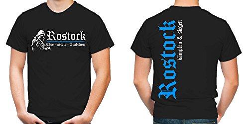 Rostock Ehre & Stolz T-Shirt | Fussball | Ultras | FB