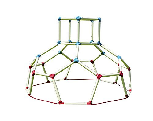 Lil' Monkey Dome Climber - Jungle Gym Playground Equipment, Climbing Structures for Kids and Toddlers, Backyard Outside Toddler Toys, Monkey Bars Climbing Tower Ages 3-6 ()