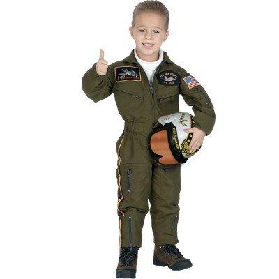 Jr Air Force Pilot Costumes (Jr. Air Force Pilot Toddler / Child Costume)