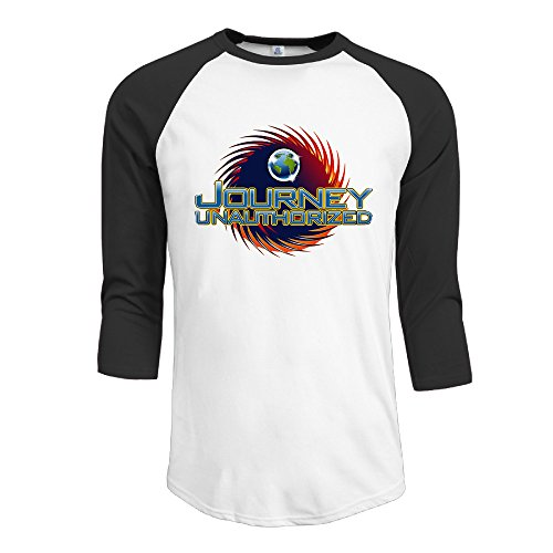 Raglan Gentleman Cartoon Teeshirt With Journey - Centers Shopping In Houston