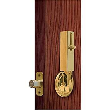 Lock Jaw Security 1001 Door Security Device Polished Brass Door Dead Bolts