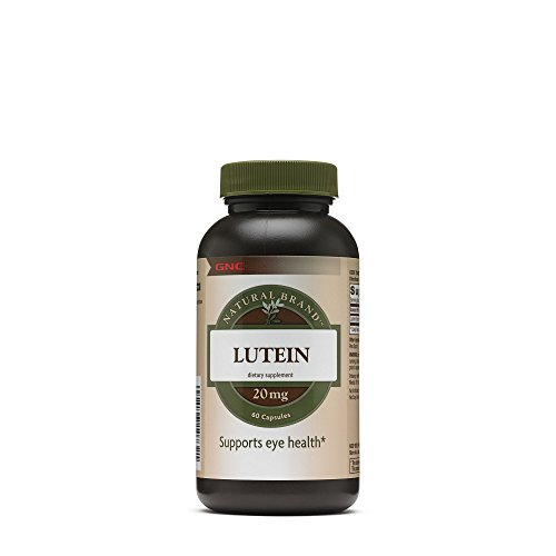 Gnc Natural Brand Lutein 20 Mg Capsules 60 Count Discount