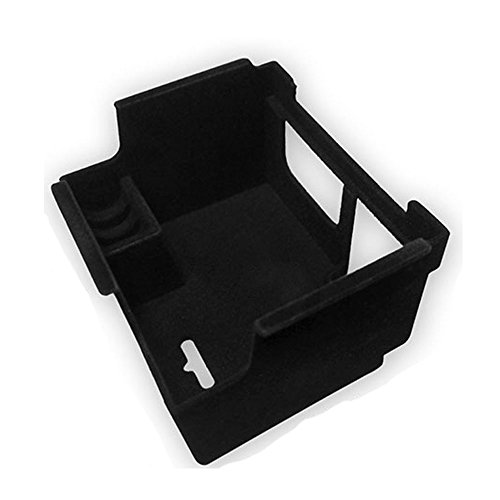 Center Console Tray Box Armrest Black Trim Molding Garnish for JAGUAR 2016 XF by KMPtrade