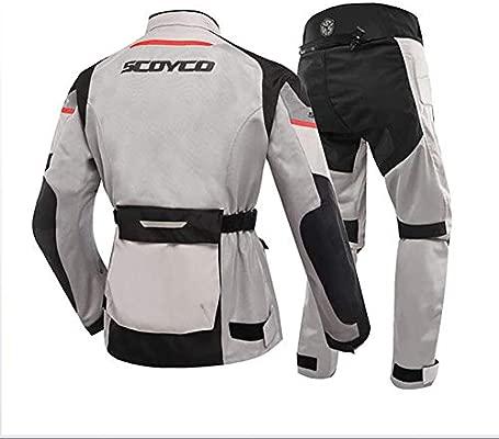 HXA Traje de Moto para Hombre Traje de Lluvia de Moto de 2 ...