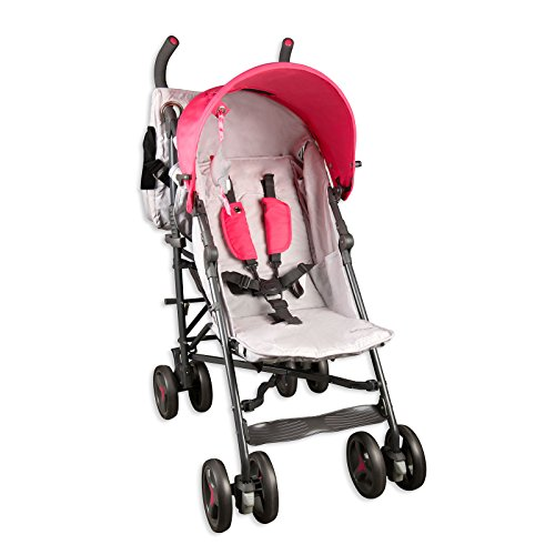 Baby Cargo Series 50 Deluxe Lite Baby Stroller Bundle/Pink by Baby Cargo