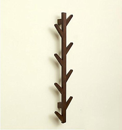 Ymj Coat Rack Garment Hanger Creative On The Wall Solid Wood