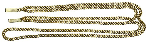 ZOOT SUIT CHAIN GOLD (Long Gangster Suit Costumes)