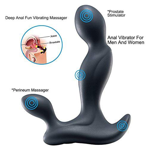 Electric Massager Men Man Massaging Prime Waterproof with Multiple Speed and Patterns,Shipping from US,HB06