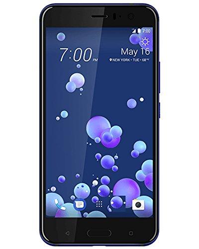 Htc Dual Sim - HTC U11 128GB Dual SIM MODEL - Factory Unlocked Phone - International Version - GSM ONLY, NO WARRANTY in the US (Sapphire Blue)
