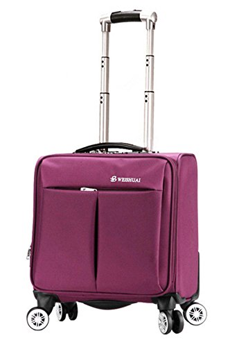 Peiji WEISHUAI 16 inch Solid Color ABS Trolley Travel Suitcase (Expandable Suiter Trolley Suitcase)