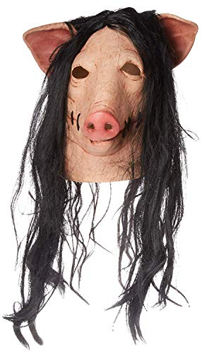 Trick or Treat Studios Men's Saw-Pig Mask, Multi, One Size -