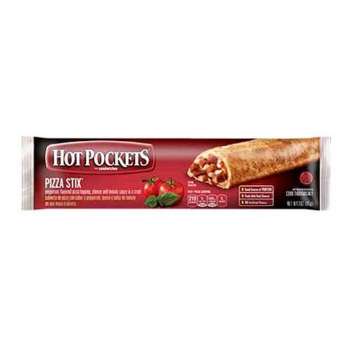 Nestle Hot Pockets Pepperoni Pizza Stix, 3 Ounce - 48 per case.