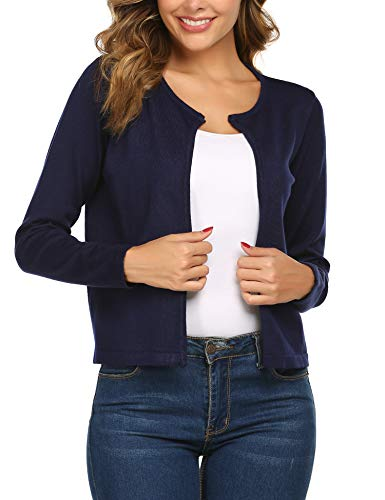SoTeer Womens Long Sweater Vests Lapel Open Front Sleeveless Cardigan Coat with Pockets