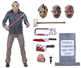 BODAN NECA Action Figure Friday The 13th - Ultimate Part 4 Jason Voorhees Action Figure / Statues Model Doll Horror Collection Gifts - PVC 7' Scale