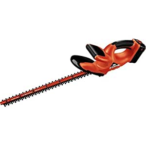 Black & Decker NHT518 18-Volt 22-Inch Cordless Electric Hedge Trimmer