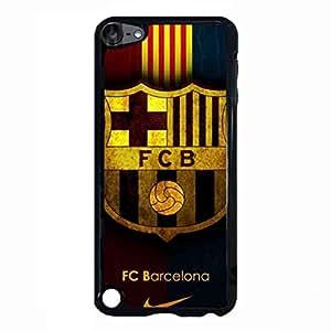 Barcelona Logo Cell funda iPod Touch 5th, Barcelona Logo Gel De Silicona TPU funda, funda iPod Touch 5th Barcelona FCB Logo funda Cover