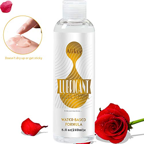 - Lube for Women Men Sex, 8 OZ Natural Personal Lubricants Water-Based Super Slick Long Lasting,Hypoallergenic,Premium Sex Lube Lubricant for Men Couple