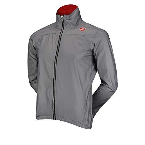 Castelli Tempesta Race Jacket - Men's Grey, XXL