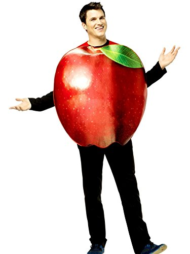 Adult Get Real Apple Costumes (Apple Adult Costume)