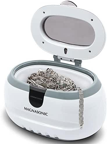Generic Sonic Wave CD-2800 Ultrasonic Jewelry and Eyeglass Cleaner, White/Gray