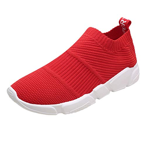 Price comparison product image 2018 Latest Hot Style! Teresamoon Men's Flying Woven Breathable Sports Shoes Running Shoes Casual Fitness Shoes