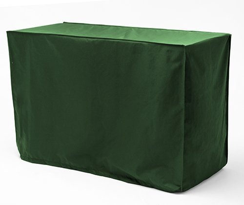 Gardenista GREEN Rectangular Garden Outdoor Table Cover in Premium Heavy Duty Waterproof Canvas. Made in the UK.