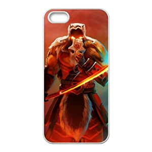 iPhone 5 5s Cell Phone Case White Defense Of The Ancients Dota 2 JUGGERNAUT 001 KN2931044