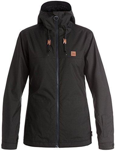 Dc Snow Jackets (DC Delinquent Women's Skiing Snowboard Jacket - Black Medium)