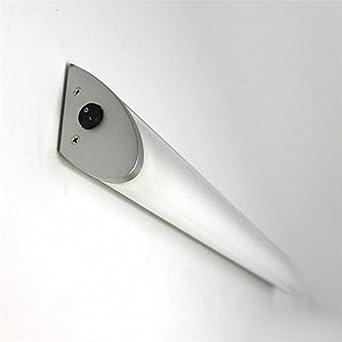 Lampenlux Wandlampe Spiegelleuchte mit Schalter Aischa 60 cm inkl ...