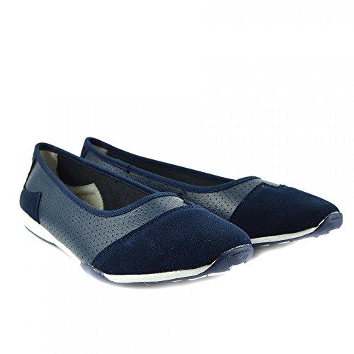... Dolly Damen Navy Footwear Pumps F80261 Kick Damen Ballerina Neu Schwarz  Größe Ballett Schuhe Slipper nwqx7YS7I ... 123b3f91e3