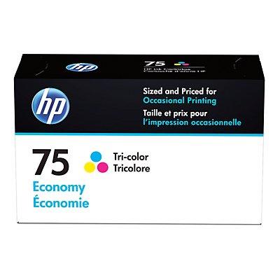HP 75 Ink Cartridge Tri-color Economy (B3B21AN) for HP Deskjet D4260 HP Officejet J6480 HP Photosmart C4342 C4344 C4382 C4384 C4435 C4440 C4540 C4550 C5540 C5550