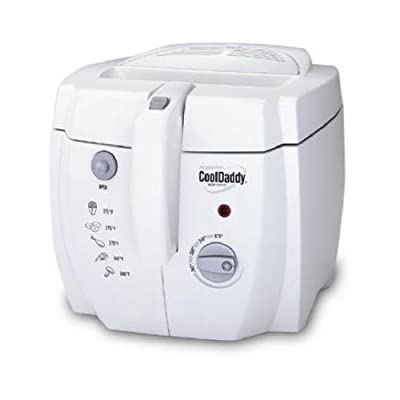 National Presto Ind 05443 CoolDaddy Cool Touch Deep Fryer