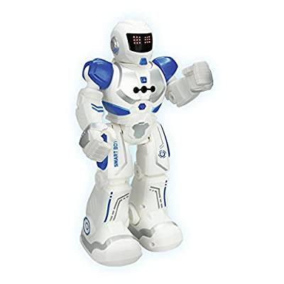 Smart Action Robot Toy - 50 Remote Controlled Actions - Infra-red Transmitter Allows Gesture Control: Toys & Games