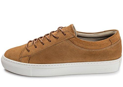 Jack & Jones - Zapatillas de ante para hombre marrón marrón