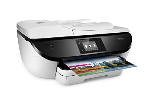 HP OfficeJet 5746 Wireless All-in-One Photo Printer with Mobile Printing in White (Certified Refurbished) by HP