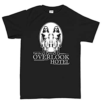 Visit Overlook Hotel Shining Horror T Shirt S Black