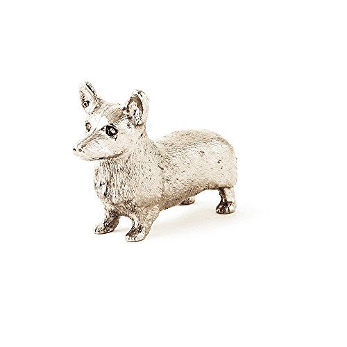 Pembroke Welsh Corgi Made in UK Artistic Style Dog Figurine Collection ()