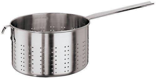 Paderno World Cuisine 9-7/8-Quart Pasta Strainer, Stainless Steel by Paderno World Cuisine