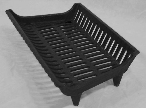 Fireplace Hearth Grate Grill - 23'' Cast Iron ECONOMY by Aiden's Hearth
