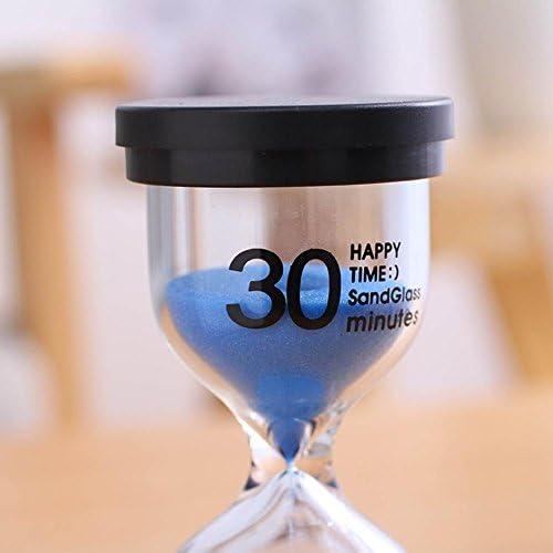7 Couleur Cr/éatif Cadeau Enfants Brossage Minuterie Sablier Hour Glass Horloge De Sable Minuterie 1//3//5//10//15//30 Minute Sablier 9x5 cm Funihut Sablier Hour Glass Horloge De Sable Minuterie
